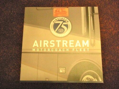 2006 Airstream 75 Anniversary Motorcoach Fleet Sales Brochure