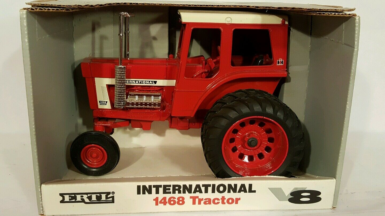 Ertl International 1468 V8 con dauls 1   16 reproductor de tractores agrícolas fundidos