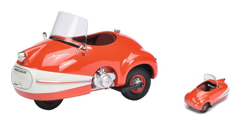 Brutsch Mopetta rot    Weiß 1 18 Model 0073 SCHUCO