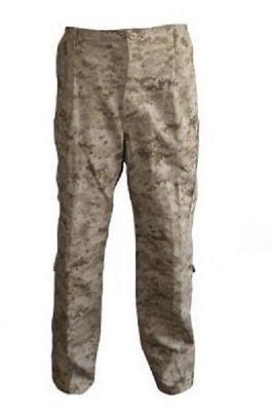 US Marine Corps Usmc Esercito Marpat Desert Digital FROG trousers pantaloni medium long