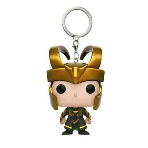 Funko-Pocket-Pop-2-034-Marvel-Avengers-Porte-cles-LOKI-Vinyle-Action-Figure-Jouets