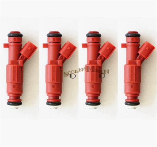 Set of 4 Fuel Injectors For 2011-2013 Hyundai Elantra 1.8L 35310-2E000 842-12375