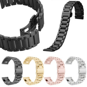Quick-Release-Stainless-Steel-Link-Bracelet-Watch-Bands-Strap-18mm-20mm-22mm