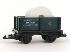 Hartland Locomotive Works Paper Company Mini Gondola 15114 G Scale Model Trains