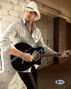 TRACE ADKINS SIGNED AUTOGRAPHED 8x10 PHOTO COUNTRY MUSIC LEGEND BECKETT BAS