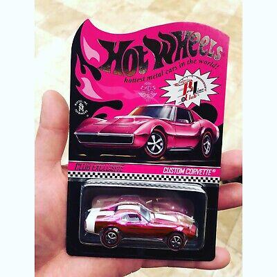 2019 Hot Wheels 19th Nationals Convention #2 Custom Camaro Pink w// redlines