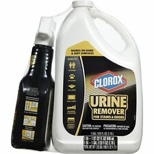 CLOROX URINE REMOVER FOR STAINS & ODORS 32oz. SRAY BOTTLE &128oz. Refill