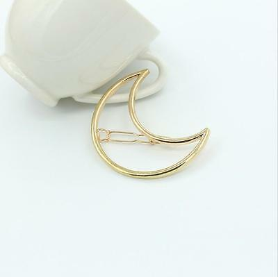 Fashion Cute Women Gold Silver Animal Flower Hairpin Hair Clip Hair Accessories