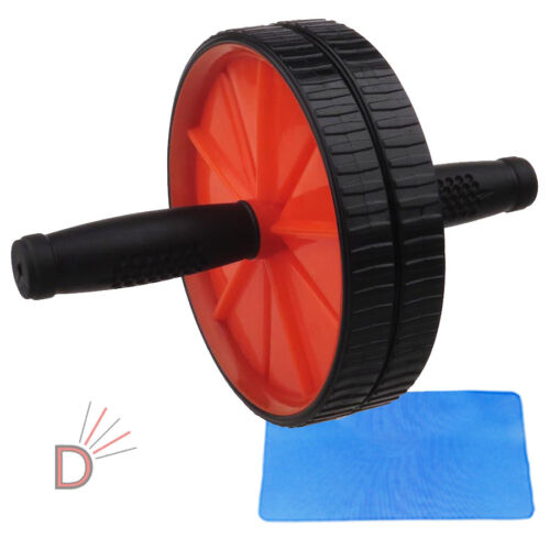 Gym Arms Wrist Tone Fitness Workout Machine Abdominal Abs Exercise Roller Wheel