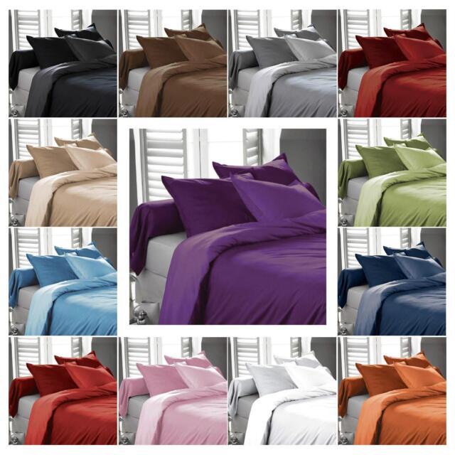 1800 Bed Sheet Set - Cal King - King - Queen - Full - Deep Pocket Sheets Bedding