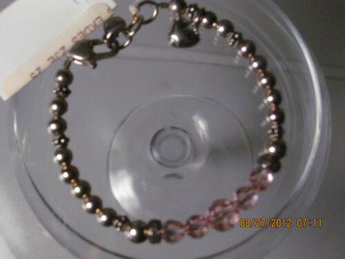 EK Designs Favorite Things Bracelet Sweetie $88.00 SS  crystals 1644