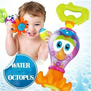 Bath Time Toys Bathing Shower Octopus For Baby Boys Girls ...