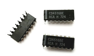 details about cd4516be cmos presettable up down counters 4516 ic (4 pieces)4516 Up Down Binary Counter Circuit #17