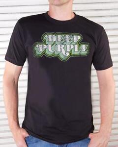 CompéTent Deep Purple T-shirt 3d Logo Size S Official Merchandise Acheter Un Donner Un