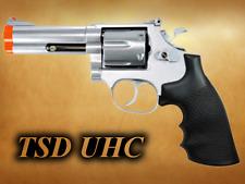 "TSD UHC .357 Airsoft Spring Revolver Pistol Gun with Shells silver UA933S 4"""