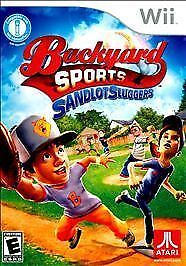 Backyard Sports Sandlot Sluggers backyard sports: sandlot sluggers (nintendo wii, 2010) | ebay