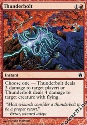 4 PreCon FOIL Keldon Champion Red PDS Fire and Lightning Mtg Magic Uncommon 4x