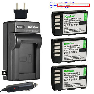 Kastar-Battery-AC-Travel-Charger-for-Panasonic-DMW-BLF19-BLF19E-Lumix-DMC-GH3GK