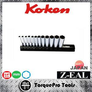 KOKEN-Z-series-RS2300MZ-1-4-039-039-High-Grade-Deep-Socket-Set