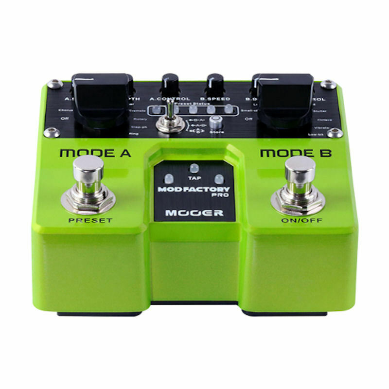 Mooer TME1 Mod Factory Pro Modulation Guitar Effects Pedal