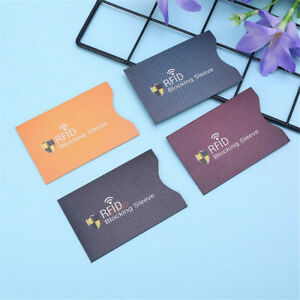Aluminium-Bank-Card-Holder-Protect-Case-Cover-Sleeve-Wallet-RFID-Blocking