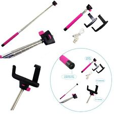 Wireless Bluetooth Extendable Monopod For Samsung Galaxy S2 S3 S4 S5-UK SELLER