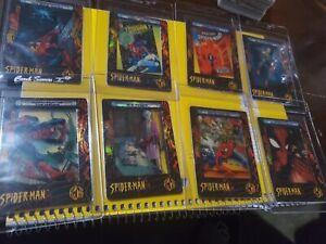 SPIDER-MAN-FILMCARDZ-2002-ARTBOX-8-OF-9-FOR-SET-PH
