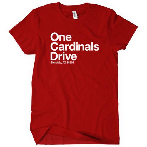 Arizona Football Stadium Women/'s T-shirt S-2X Cardinals Fan Gift Glendale AZ