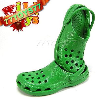 Wild Toys 1/6 Clogs_Green_Sandel Fashion Shoes ACI  WT006I
