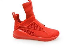 puma zapatilla roja mujer