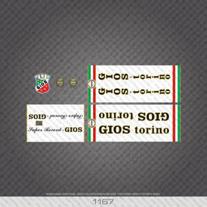 01167-Gios-Super-Record-Bicycle-Stickers-Decals-Transfers