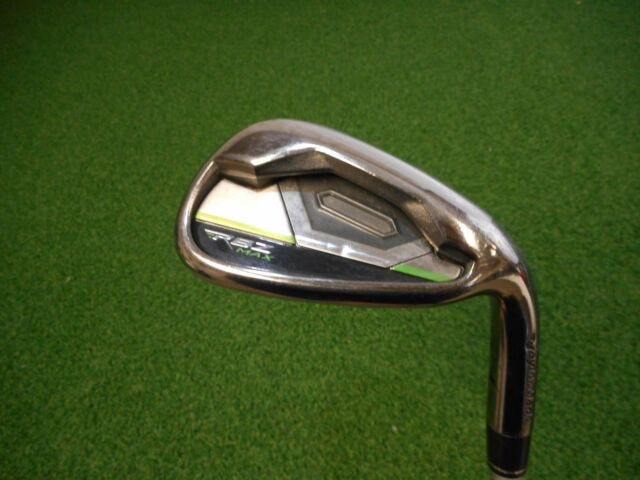 TAYLORMADE ROCKETBALLZ GAP WEDGE KBS STIFF FLEX GRAPHITE USED RH