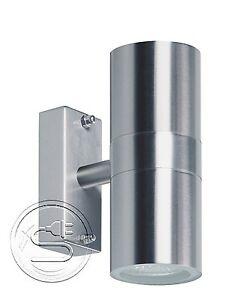 Details Zu Ranex 2605010 Updownlight Außenwandleuchte Edelstahl Gu10 Wandlampe Außenlampe