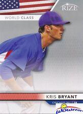 (10) 2013 Leaf Rize WORLD CLASS Kris Bryant ROOKIES MINT Cubs World Champion