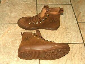 Dettagli su LOTTO N. Converse All Star High Top Sneaker Boot in pelle invernali UK 5.5 mostra il titolo originale
