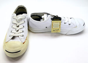 32948d76b8b7 Converse Shoes Jack Purcell Core Leather Lo White Sneakers Womens ...