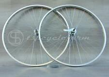 """coppia ruote bici bicicletta 28"""" contropedale alluminio italy city fixed cruiser"""