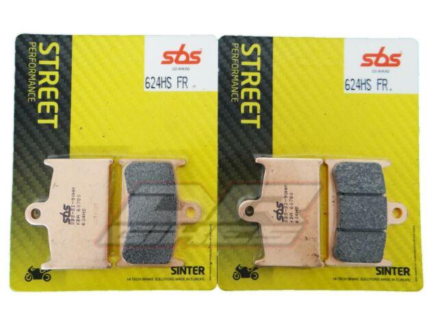 MZ 1000 MUZ ST 07+ SBS Street Sintered Front Brake Pads 624HS