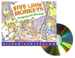 five little monkeys swinging in <a href=