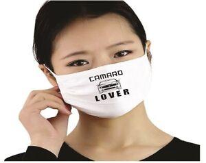 Camaro Lover Face Mask Cotton Washable Reusable Social Distancing Stop Spread Ebay
