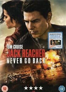 Jack-Reacher-Never-Go-Back-DVD-with-card-slipcase-Tom-Cruise