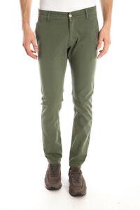 6bff766b53 Dettagli su Pantaloni Daniele Alessandrini Jeans Trouser Cotone Uomo Verde  PJ9001L1003431 33
