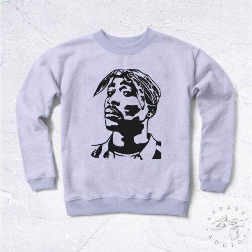 NEW Sweat Tupac BIO West Coast East Biggie Small Rap Hiphop Music Legend Game