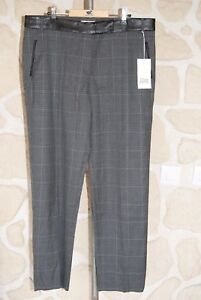 Pantalon-gris-neuf-taille-42-marque-Gerard-Darel-etiquete-a-147-v