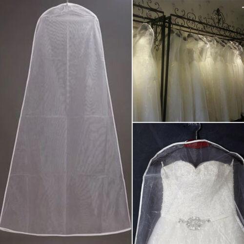 Clear Hochzeit Kleidersack Kleiderschutzhülle Kleiderhülle Brautkleidhülle Neu