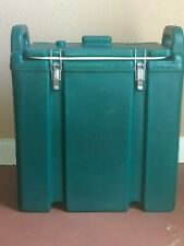 Cambro 250lcd Green 25 Gallon Insulated Beverage Dispenser Hot Or Cold Used