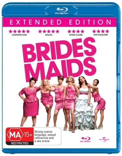 1 of 1 - Bridesmaids (Blu-ray, 2011) 'EX RENTAL'
