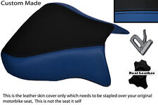 R BLUE& BLACK CUSTOM FITS APRILIA RSV 01-03 TUONO 04-05 1000 FRONT SEAT COVER