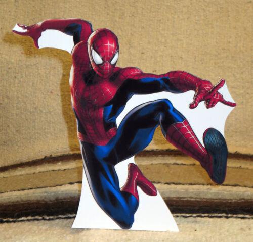 "Marvel Comics /""Spiderman/"" Color Figure Tabletop Display Standee 8/"" Tall"