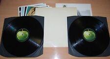 THE BEATLES White Album UK LP NICE MONO FIRST PRESS 1968 PMC 7067/8 TOP LOADER